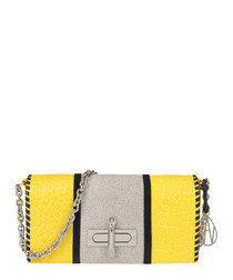 The Baguette Costello lemon shoulder bag