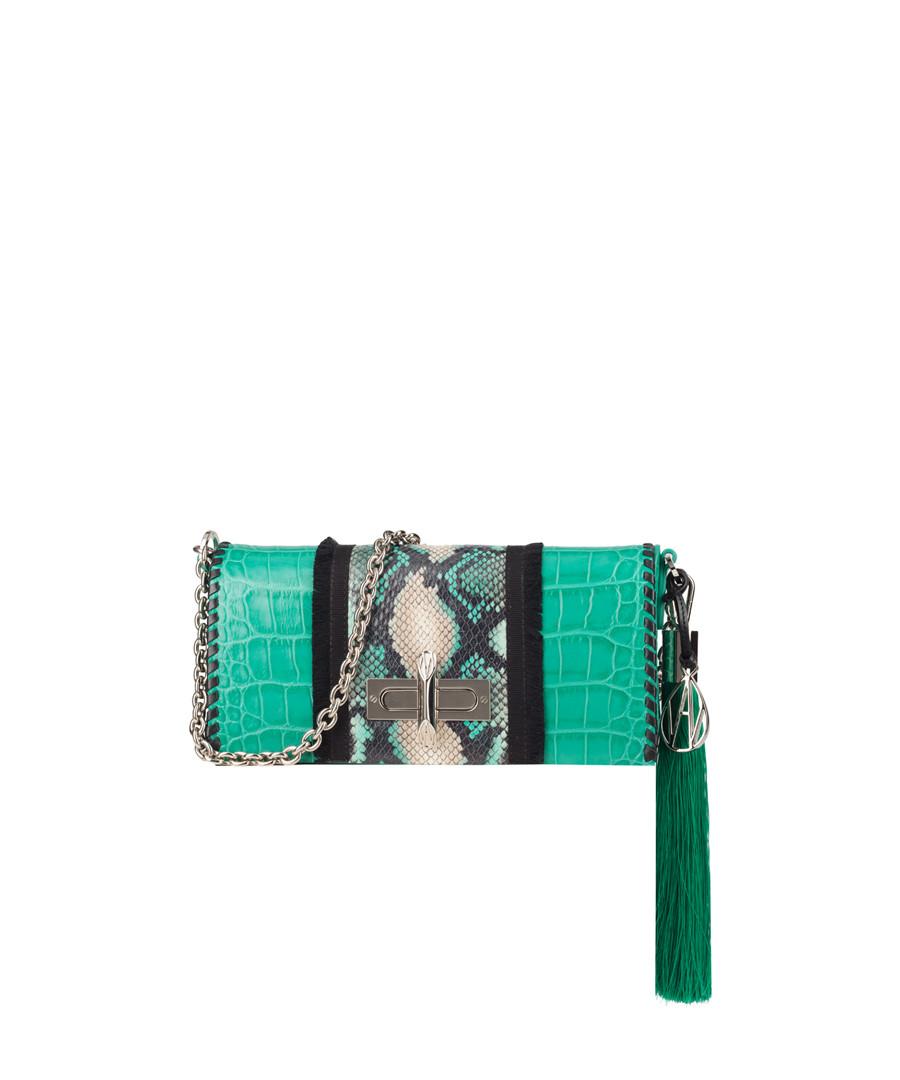 The Baguette Costello green shoulder bag Sale - Amanda Wakeley