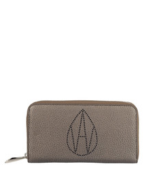 The Perforated Dylan bronze-tone purse