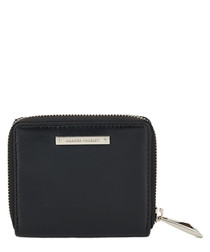 The Jagger black leather purse