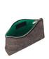 The Perforated Mercury brown clutch Sale - Amanda Wakeley Sale