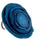 Blue leather rose pin Sale - Tateossian London Sale