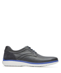 DresSports 2 Fast blue leather shoes