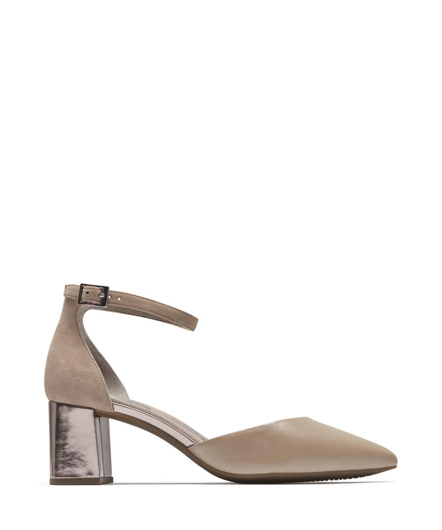 Salima dove leather block heels Sale - rockport