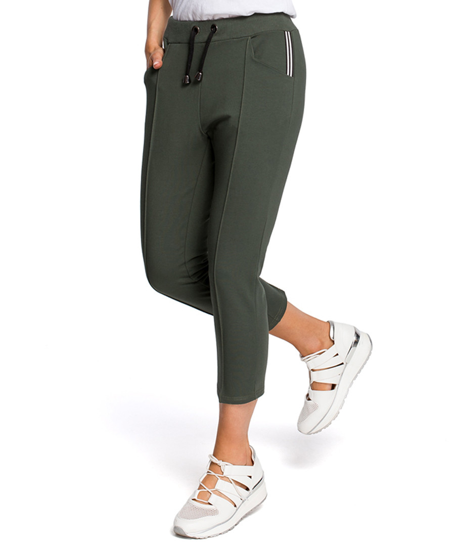 Milgreen crop casual trousers Sale - made of emotion