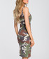 Green camouflage print dress Sale - made of emotion Sale