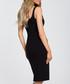 Black figure-hugging dress Sale - made of emotion Sale