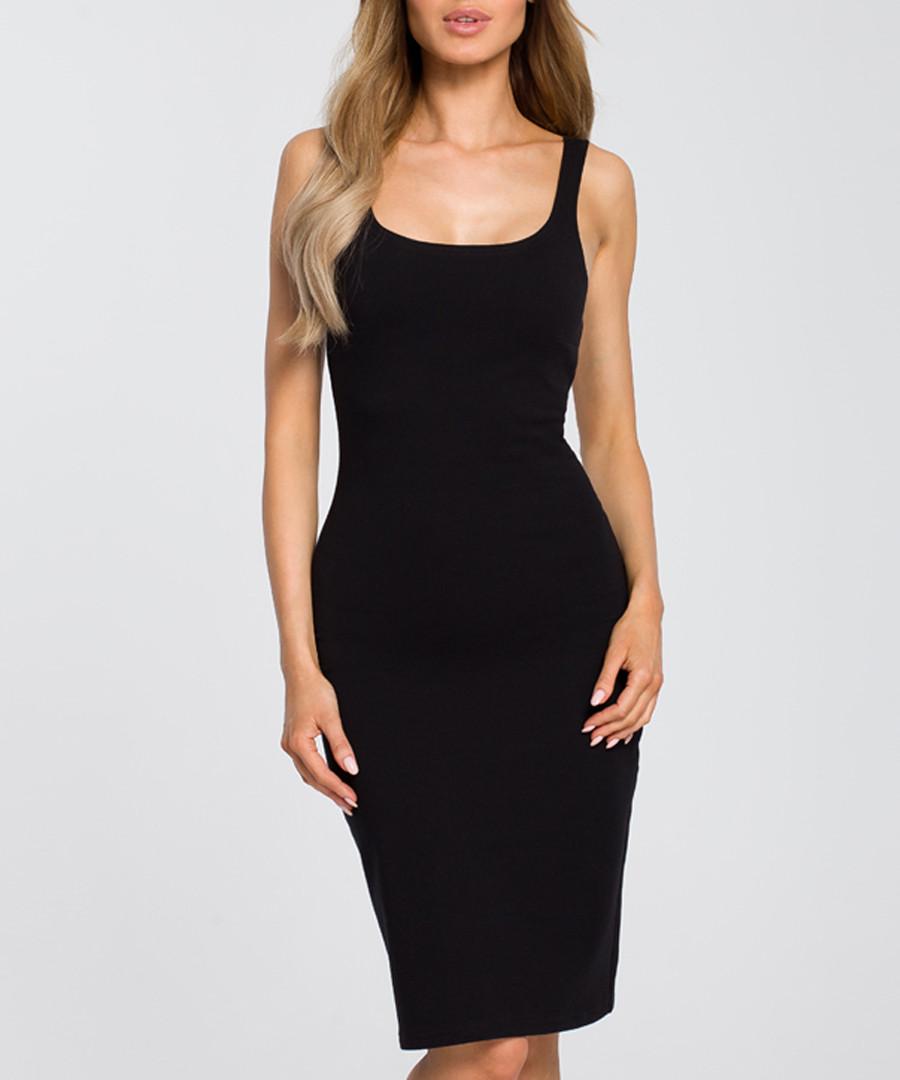 Black figure-hugging dress Sale - made of emotion