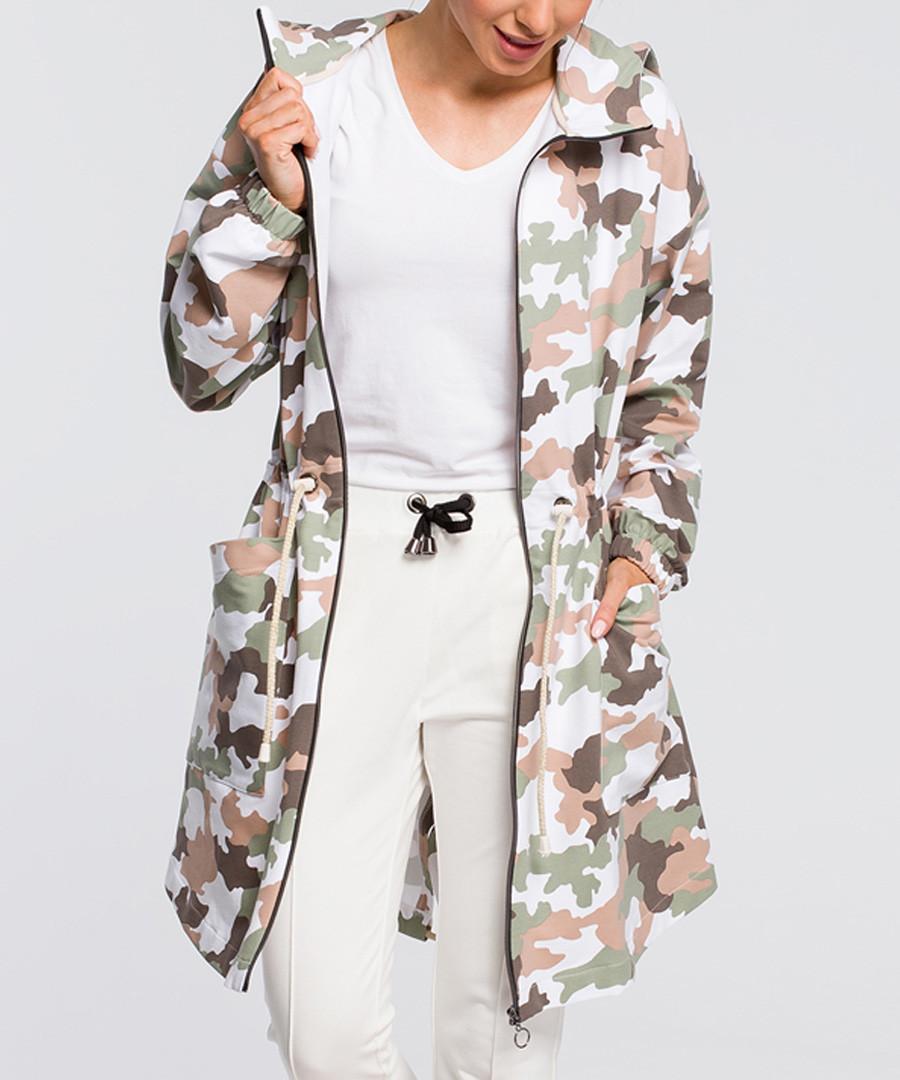 Multi-colour camo print jacket Sale - made of emotion