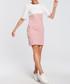 Powder & white colour block dress Sale - made of emotion Sale