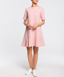 Powder basic A-line dress