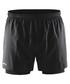 Run Fast 2 in 1 black shorts Sale - Craft Sale