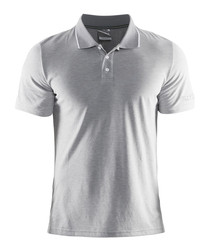 In The Zone grey polo shirt