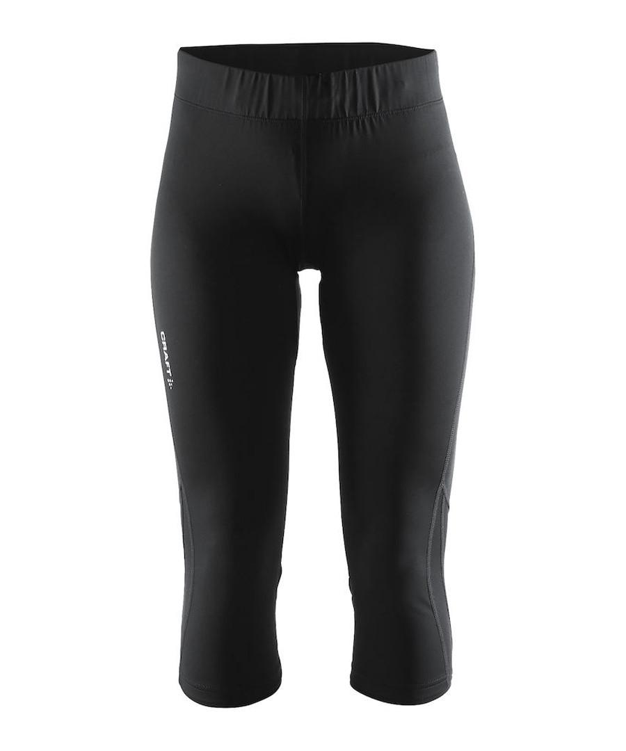 Women's Prime black capri leggings Sale - Craft