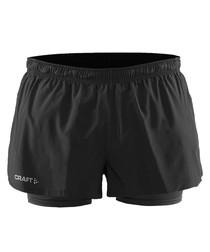 Joy black 2 in 1 shorts