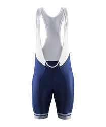 Deep blue logo bib shorts