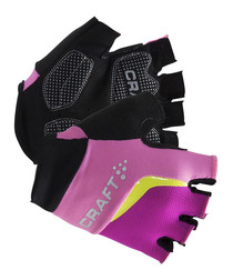 Multi-colour logo gloves