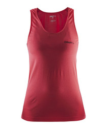 Seamless Touch Tempo red tank top