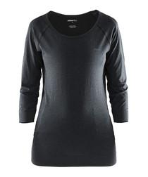 Seamless Touch black sweatshirt