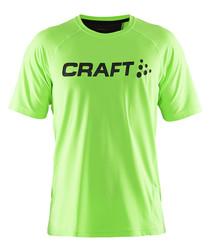 Precise gecko green logo T-shirt