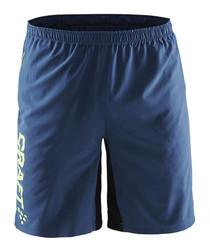 Precise blue shorts