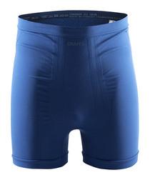 Seamless black & blue boxer shorts