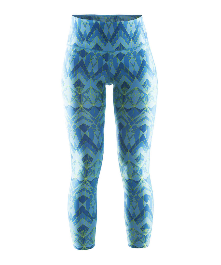 Women's Pure blue abstract leggings Sale - Craft