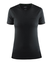 Active Comfort Run black T-shirt