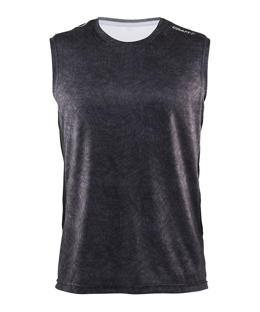 Mind black sleeveless vest top Sale - Craft