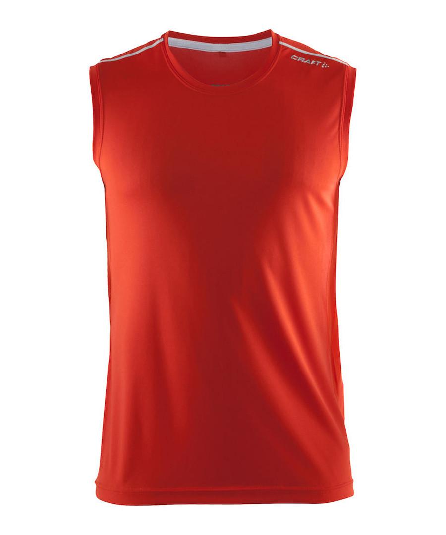 Mind red sleeveless vest top Sale - Craft