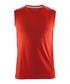 Mind red sleeveless vest top Sale - Craft Sale