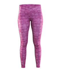 Women's Devotion purple print leggings