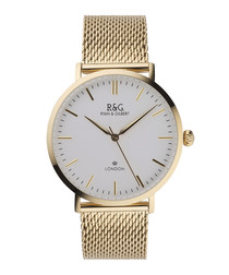 Belgravia gold-plated watch