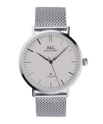 Belgravia silver-plated watch