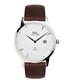 Knightsbridge silver & brown watch Sale - Ryan & Gilbert Sale