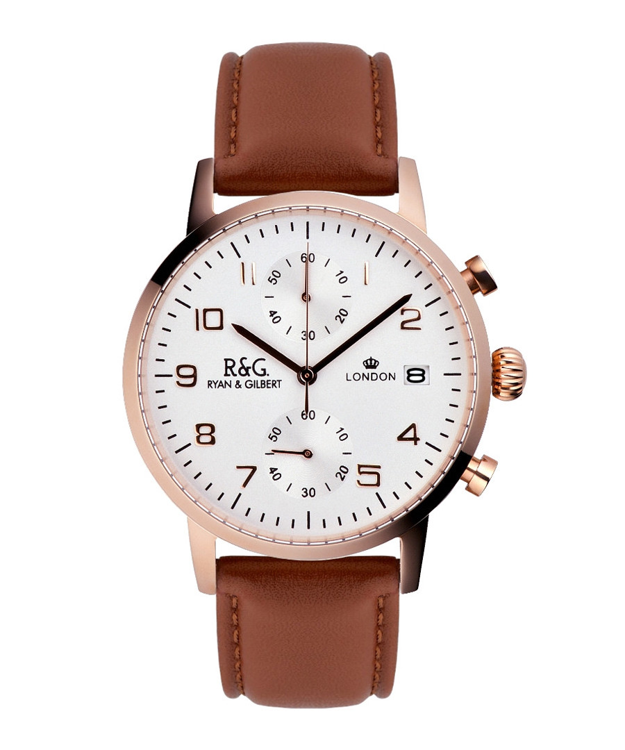 Westminster brown leather watch Sale - Ryan & Gilbert