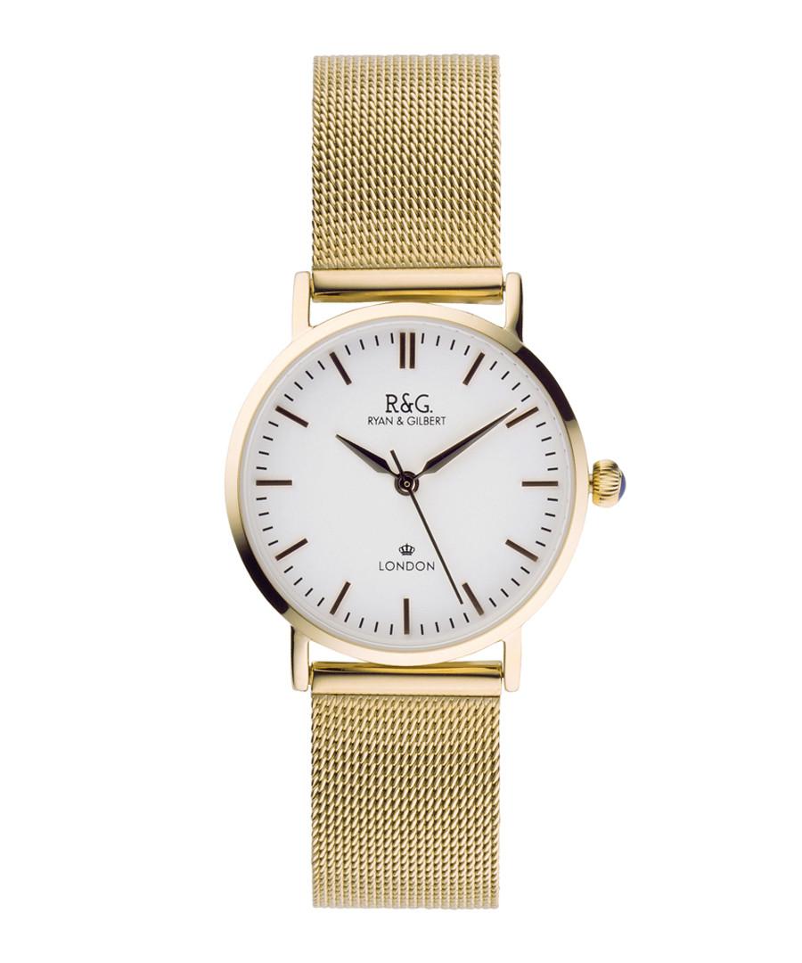 Belgravia Petite gold-plated watch Sale - Ryan & Gilbert