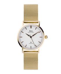Belgravia Petite gold-plated watch
