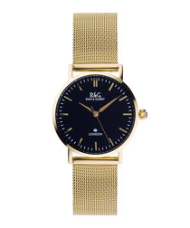 Belgravia Petite gold-plated watch