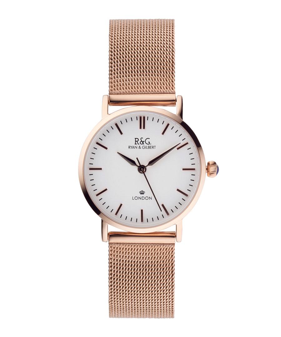 Belgravia Petite rose gold-plated watch Sale - Ryan & Gilbert