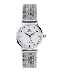 Belgravia Petite silver-plated watch