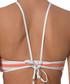 Multi-colour diagonal stripe bikini top Sale - seafolly Sale