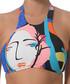 Multi-colour abstract print bikini top Sale - seafolly Sale