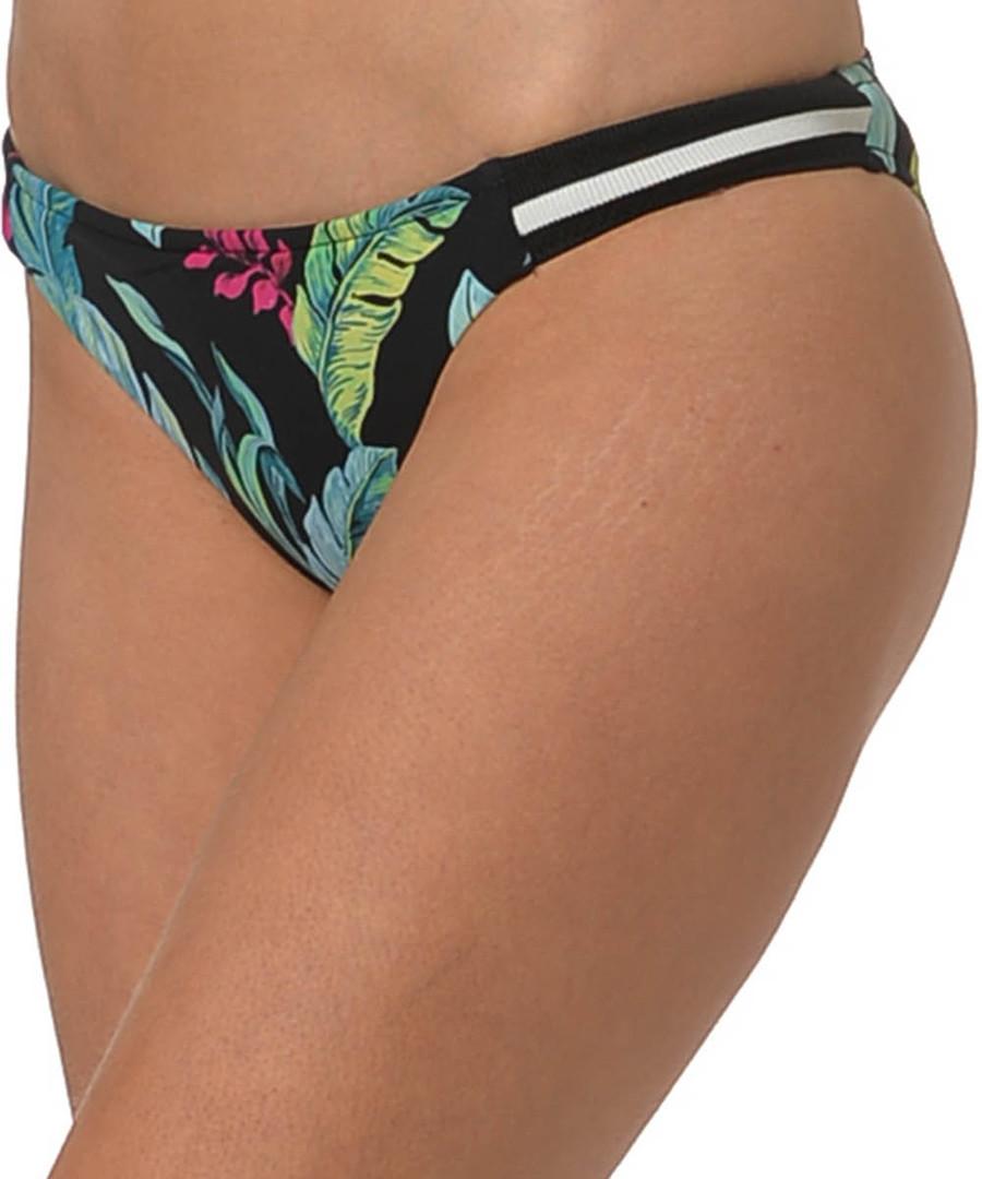Black tropical printed bikini briefs Sale - seafolly