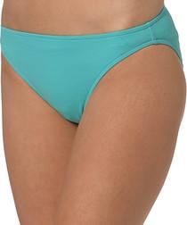 Blue basic bikini briefs