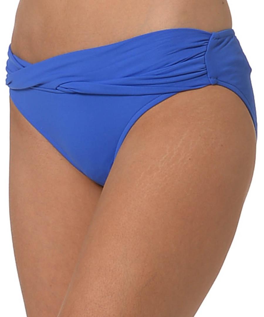 Blue cross-over bikini briefs Sale - seafolly