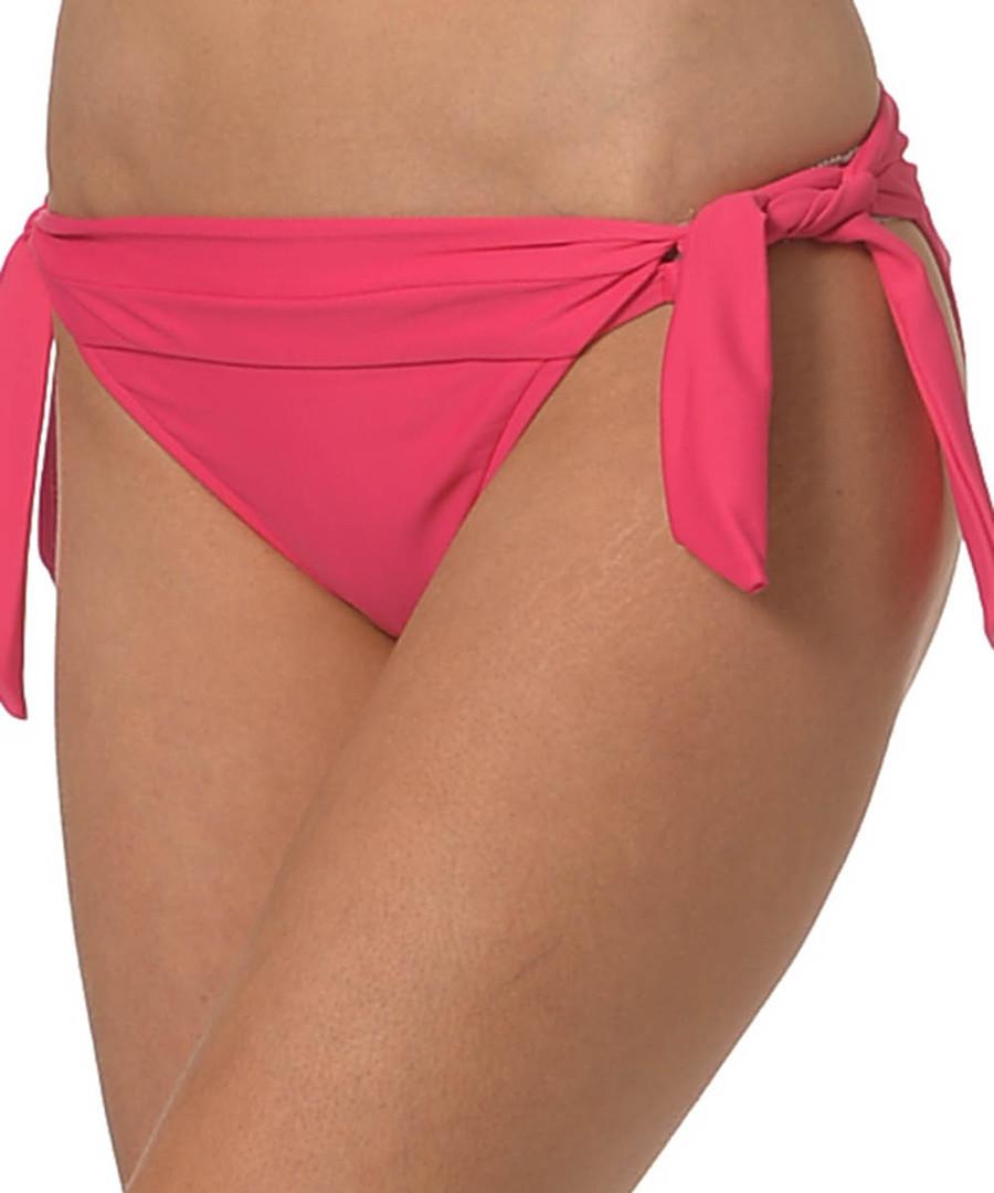 Raspberry tie-side bikini briefs Sale - seafolly