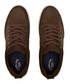 Chocolate brown nubuck suede sneakers  Sale - sterling and hunt Sale