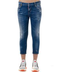 Bue cotton blend slim jeans