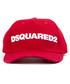 Red pure cotton baseball logo hat Sale - dsquared2 Sale